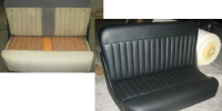 Upholstery Repair Before and After