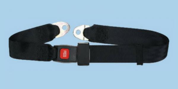 2 Point Non Retractable Universal Lap Seat Belt