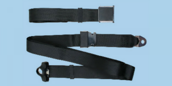 3 Point Non Retractable Bench Seat Belt