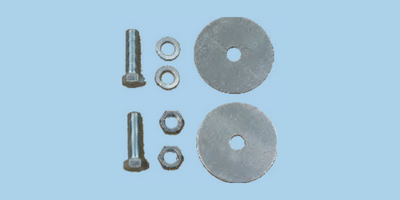 Lap belt hardware kits