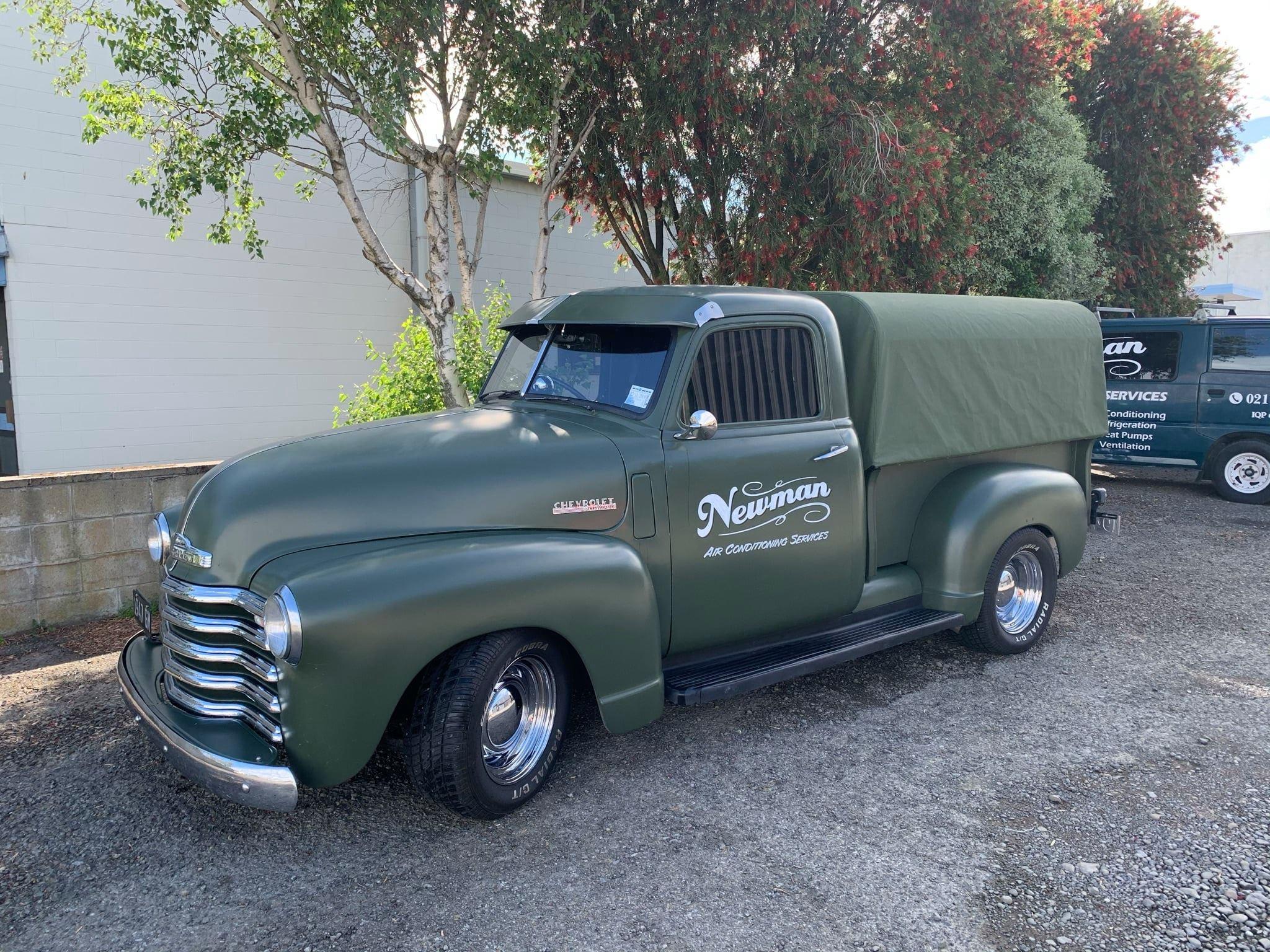 1947 Chevy Pickup custom canopy