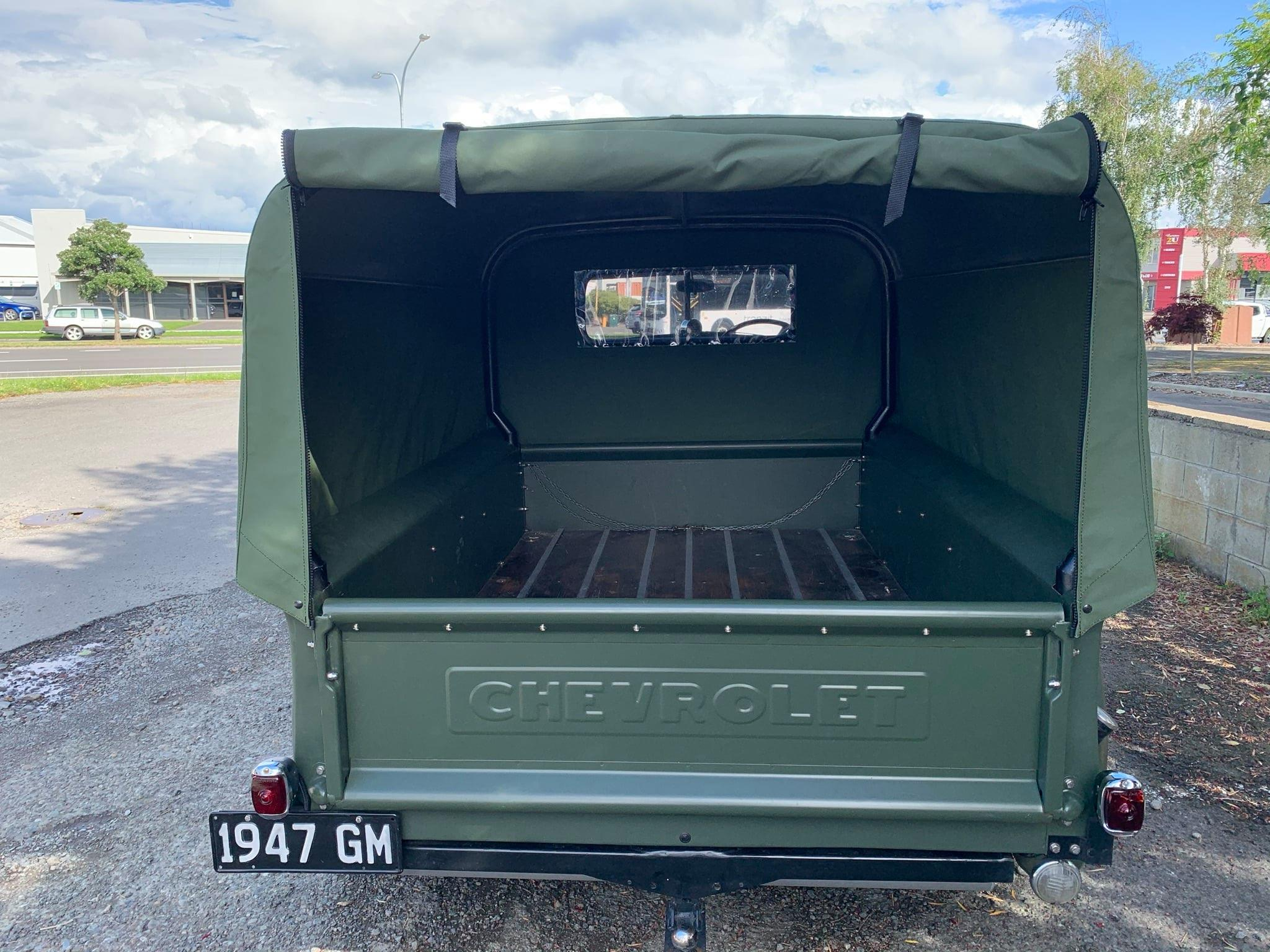 '47 Chevy Pickup custom canopy